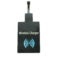 High quality Universal QI Wireless Charging Charger Receiver Pad Coil for micro-USB mobile phone For Samsung HTC iphone