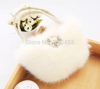 Cute~Girl Small fur bag handbag