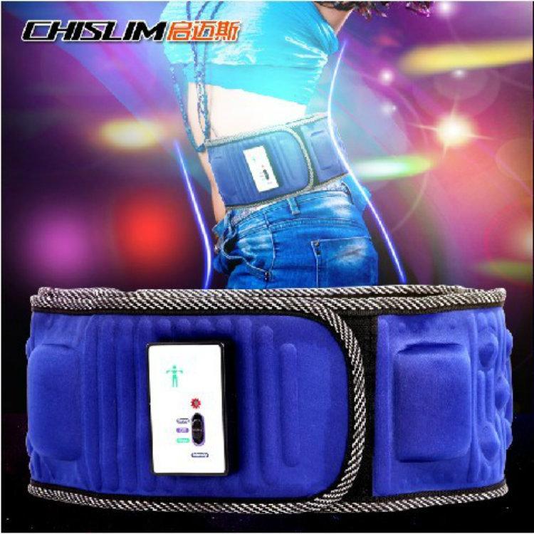 5 motor 20 magnets Retail 1 pc multinational massager belt slimming belt lower back pain