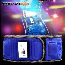 5-motor 20 magnets Retail 1 pc multinational massager belt slimming belt  lower back pain
