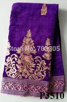 African  new  designs high quality velvet lace/handcut velvet lace fabrics