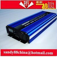 3000W Pure Sine Wave Power Inverter Converter 12V DC to 220V AC 6000 Watt Peak
