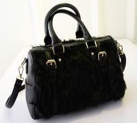 Free shipping 2015 new Korean fashion hair wave bag lady bag shoulder handbag fashion women baodan bag