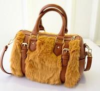 Fall/winter 2014 new Korean fashion hair wave bag lady bag shoulder handbag fashion women baodan bag