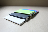 150PCS/with shipping cost to USA  W280 Ultra  power bank 3000mah External Battery pack polymer thinnest Power Bank