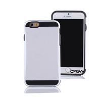 Credit Card ID Holder TPU Hard Case Cover For iPhone 6 4.7 inch