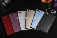 YOSA02 Motomo Case For Xiaomi3 Mi3 M3 Phone Ultrathin Brushed Aluminum Metal Back Cover Housing Cases Free Shipping Wholesale