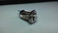 16 mm/flat metal push button switch round/locking /1 no1nc/waterproof/life/door/pin
