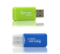 Sale!quality TF card reader microSD direct reading Mini USB card reader Maximum support