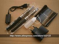 eGo CE4 e Cigarette Double Starter Kits e-cig 2 CE4 Atomizer 2 Battery 1100mah EGO Zipper Case Electronic Cigarettes Smoking