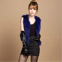 2014 raccoon fur vest fox fur vest design short fur coat