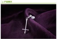 2014 New Anime Bakemonogatari Drop Earrings 100% 925 sterling silver jewelry Earrings earrings for women silver earrings