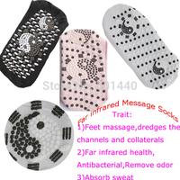 Unisex Tourmaline Energy Far Infrared Massage Elastic Socks