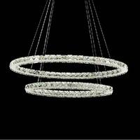 Free shipping oval design luxury crystal LED chandelier modern fashion lustres de sala indoor lighting