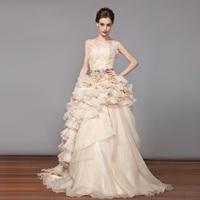 2014 bridal wedding Tube top wedding dress Winter vestido de noiva Romantic casamento sexy salomon fashionable boda dress