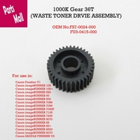 1000k Gear 36T,Waste toner drive,FU3-0415-000 FS7-0024-000 For Use in Canon imageRUNNER7105 7095 7086 105 9070 8500 8070 7200