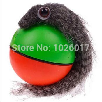 hot Beaver Weasel Rolling Motor Ball Pet Cat Dog Kids Chaser Jumping Moving Fun Toys free shipping(China (Mainland))