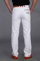 White black jeans Men hot-selling 2014 four seasons men's elastic fashion quality 8809 jeans