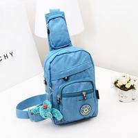 2014 new kippling women chest bag nylon waterproof monkey bag kip messenger bag free shipping