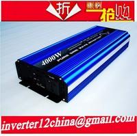 4000W Pure Sine Wave Power Inverter Converter 12V DC to 120V AC 8000 Watt Peak