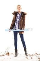 free shipping 2014 women short style down coat windproof warm slim down jacket women down parka