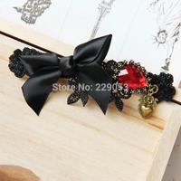 Bowknot hairpins Word folder Hair Accessories Gothic Lolita cosplay hair accessories Headdress