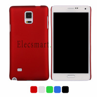 2 Pcs Simple Design Slim Hard Silicon Protective Case Cover in Matte Finish for Samsung Galaxy Note 4