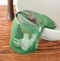 Grid travel Long receive bag folding wash gargle bag to receive bag Long