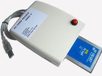 ATA PCMCIA Memory Card Reader Card 68PIN CardBus To USB 2.0 Adapter Converter Free Shipping