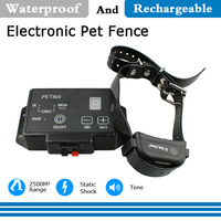 Free Shipping Professional 2500 Square Meters Outdoor Electric Fence Controller Dog Wireless Fence Containment System Pet Safety