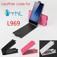 New Arrival Good Quality Flip Leather Case Cover For THL L969 Original Case Up and Down Cover DesignFree ship