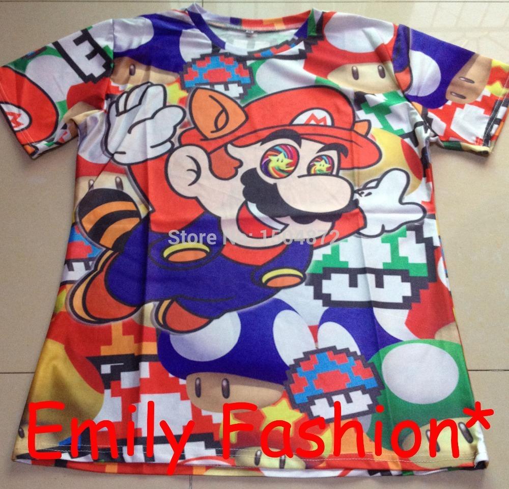 Мужская футболка Emily fashion t /3d t A-27 мужская футболка emily fashion t rihanna 3d t s m l xl xxl a 51