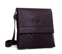 2014 Hot sale Free Shipping New Upscale Leather Men Big Brand Shoulder Bags Messenger Holder For Documents Bag For Men