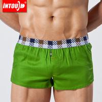 Intouch panties 100% male cotton panties derlook aro low-waist pants casual sports trunk