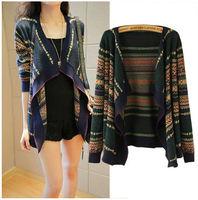 2015 New Lady Winter Sweater Women Slim V-Neck  open stitch Knit Thick,women cardigans free shipping