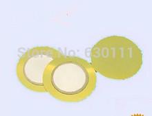 FREE SHIPPING 100PCS /LOT Piezo Ceramic Element 12mm (copper) buzzer Buzzer piece12mm(China (Mainland))