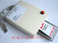Wholesale ATA PCMCIA Memory Card Reader Card 68PIN CardBus To USB 2.0 Adapter Converter Free Shipping