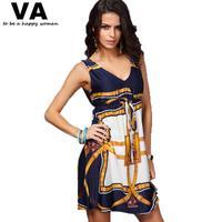 New Sexy Women summer casual dress plus size women's strapless Sleeveless Bohemia Beach Print Dresses tropical clothing W00143