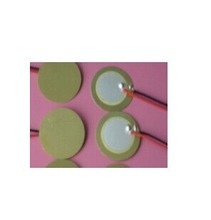 15CM Piezo Ceramic Element with cable 15CM free shipping D15(China (Mainland))