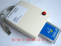 NEW PCMCIA Flash Disk card Reader ATA Memory Card To USB 2.0 Adapter converter Free Shipping