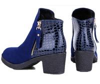 womens high-heel martin boots