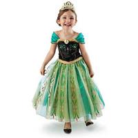 New 2014 Kids Dresses Frozen Girls Summer Costume Elsa Dress Fantasias Party Children's Clothing Vestido Princesa Disfraces