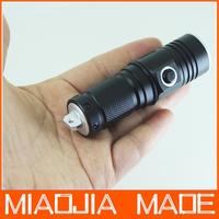 500Lm CREE Q5 LED Mini Portable Flashlight Torch 16340 Keychain Lamp