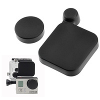 Gopro Accessories Black Protective Camera Lens Cap Cover + Housing Case Cover For Gopro HD Hero 3+ Plus
