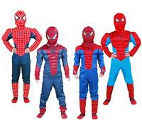 Children's clothes superhero spider man Cosplay dress