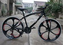 Bicicletas ciclismo de montaña de 21 velocidades uno ruedas de carreras de bicicleta de montaña de 26 pulgadas(China (Mainland))