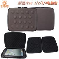 Hard box EVA case for apple ipad case for ipad 4 for ipad 3 2 bag free shipping