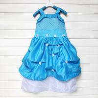 2014 Children Prom Clothing Princess Party Girls Dress Baby Girl Christmas Gown Vestido Infantil Sleeveless Children's Dresses