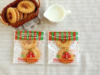 New product 100pcs/lot packaging bags Merry Christmas. self adhesive plastic bag food bag party bag 10x11cm