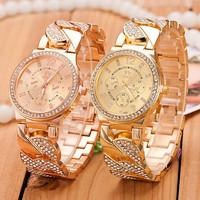 2 Colors New Fashion Watch Women Quartz Watches women rhinestone watches women dress watches AW-SB-1175